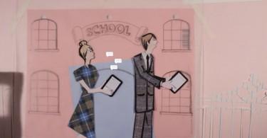 تصویری از اهمیت نقاشی های کودکان